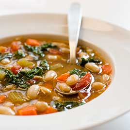 Tuscan bean pasta soup recipe