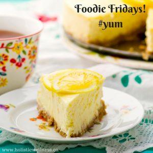 foodie fridays lemon cheesecake