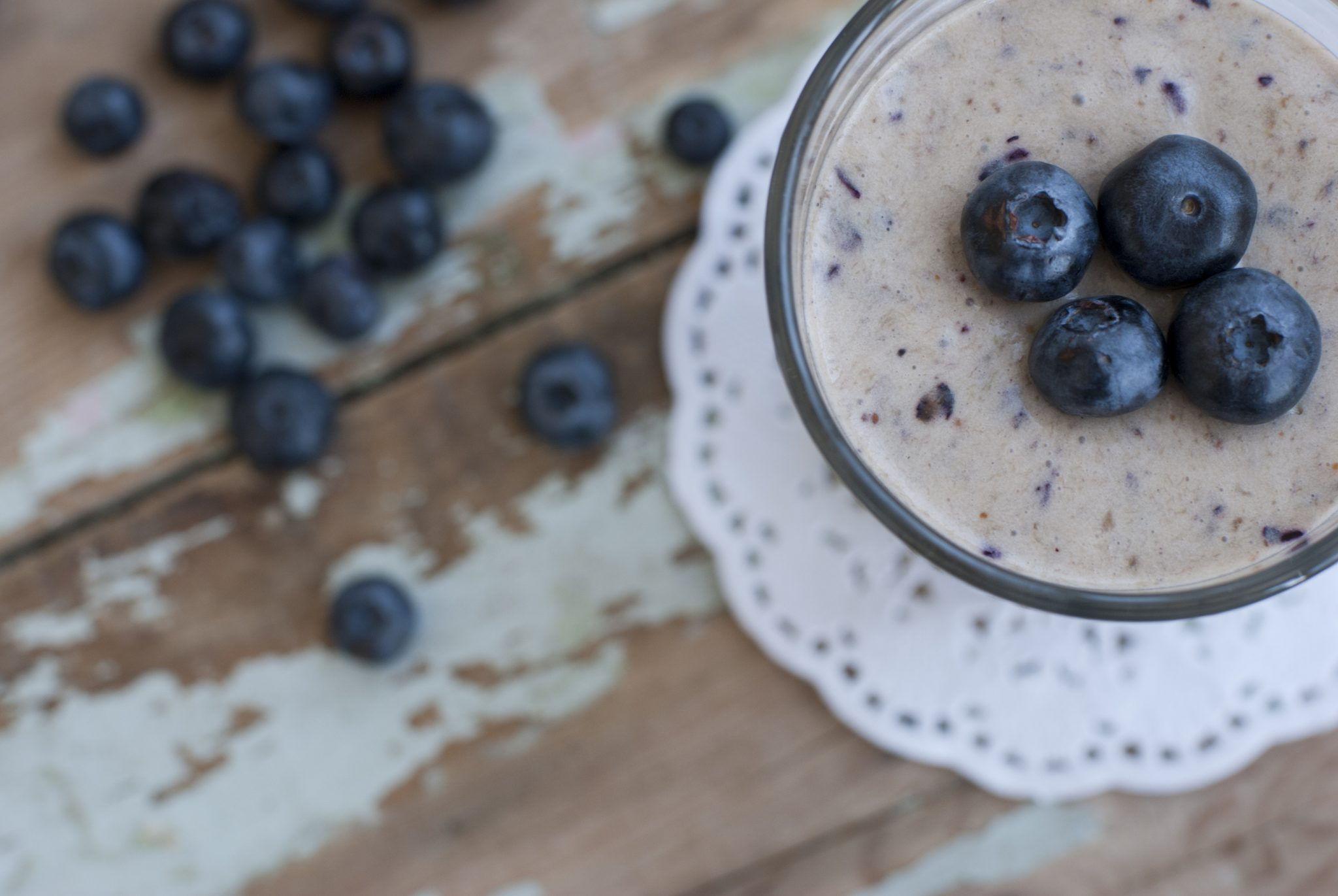 Energizing Blueberry Spinach Smoothie