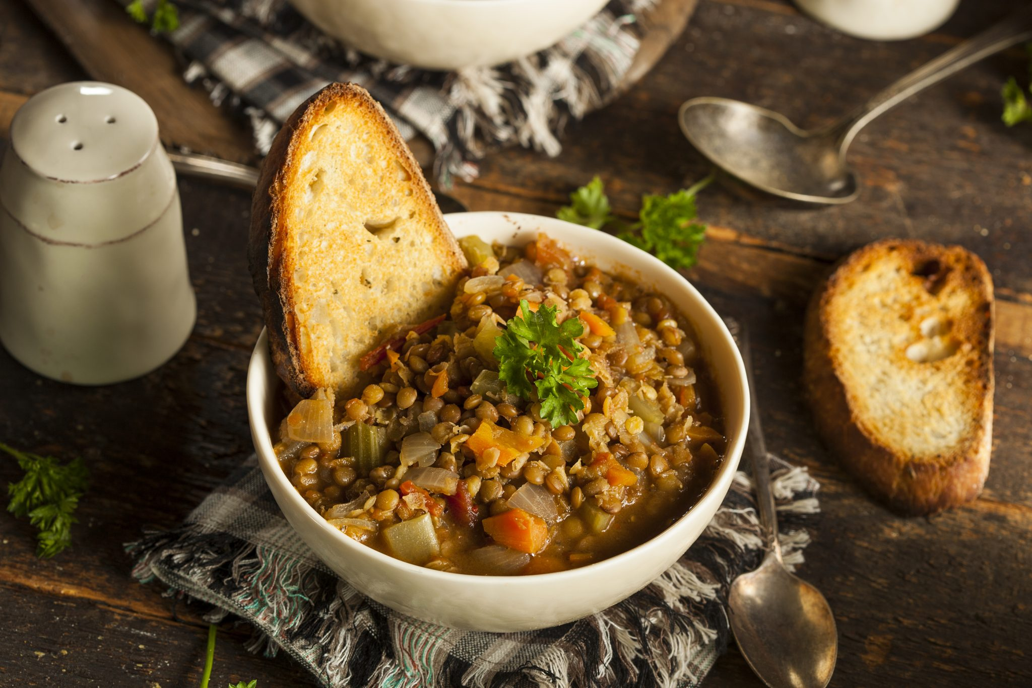 Spinach and Lentil Soup – a Delicious Meatless Meal