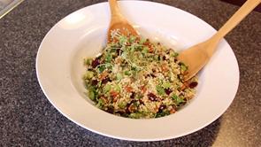 Festive Cranberry Quinoa Salad