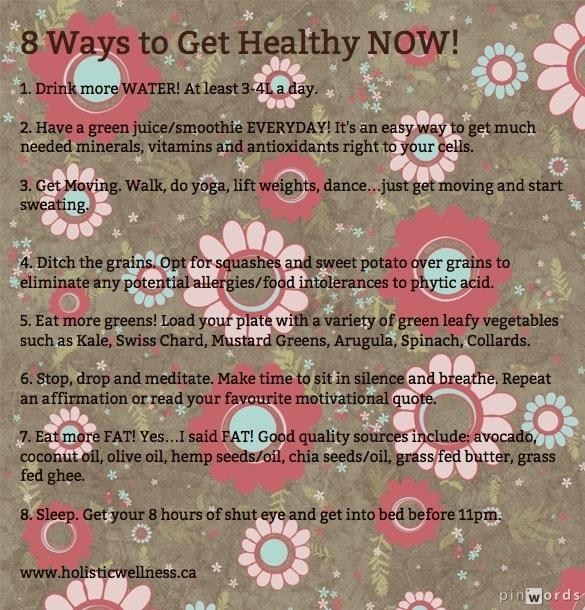 get healthy now