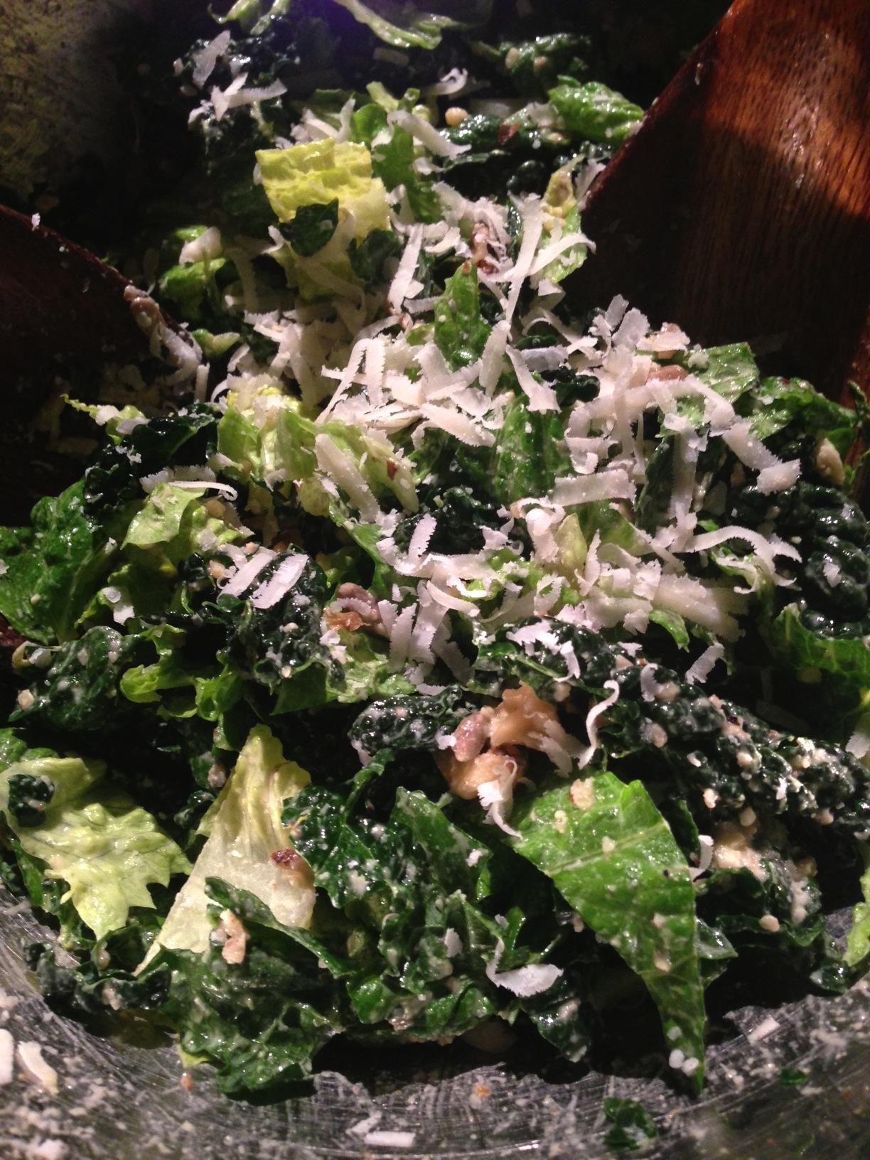 Creamy Vegan Garlic Caesar Dressing