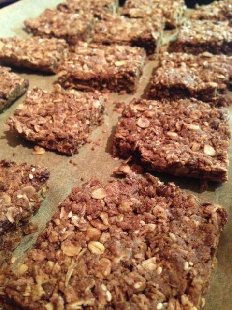 Gluten Free Chocolate Oat Bars