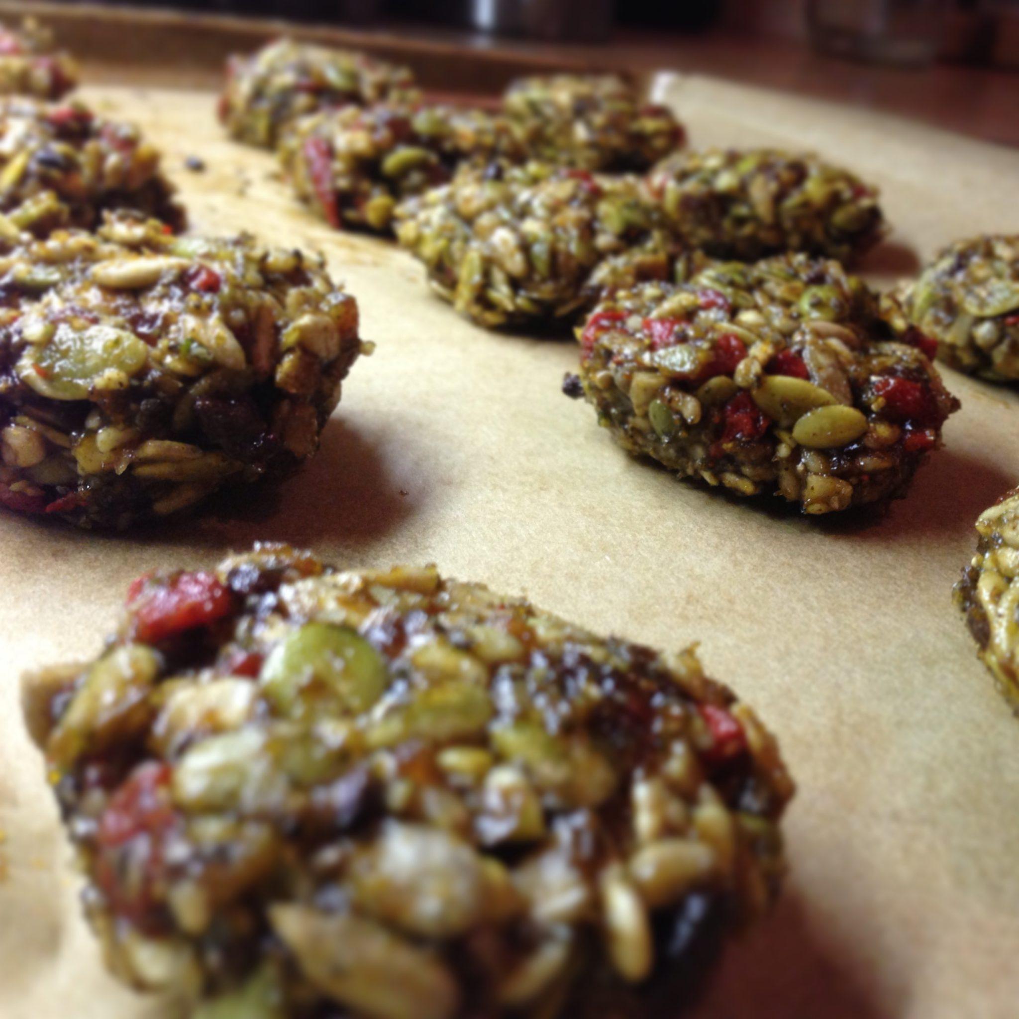 Raw Super Seed Cookies