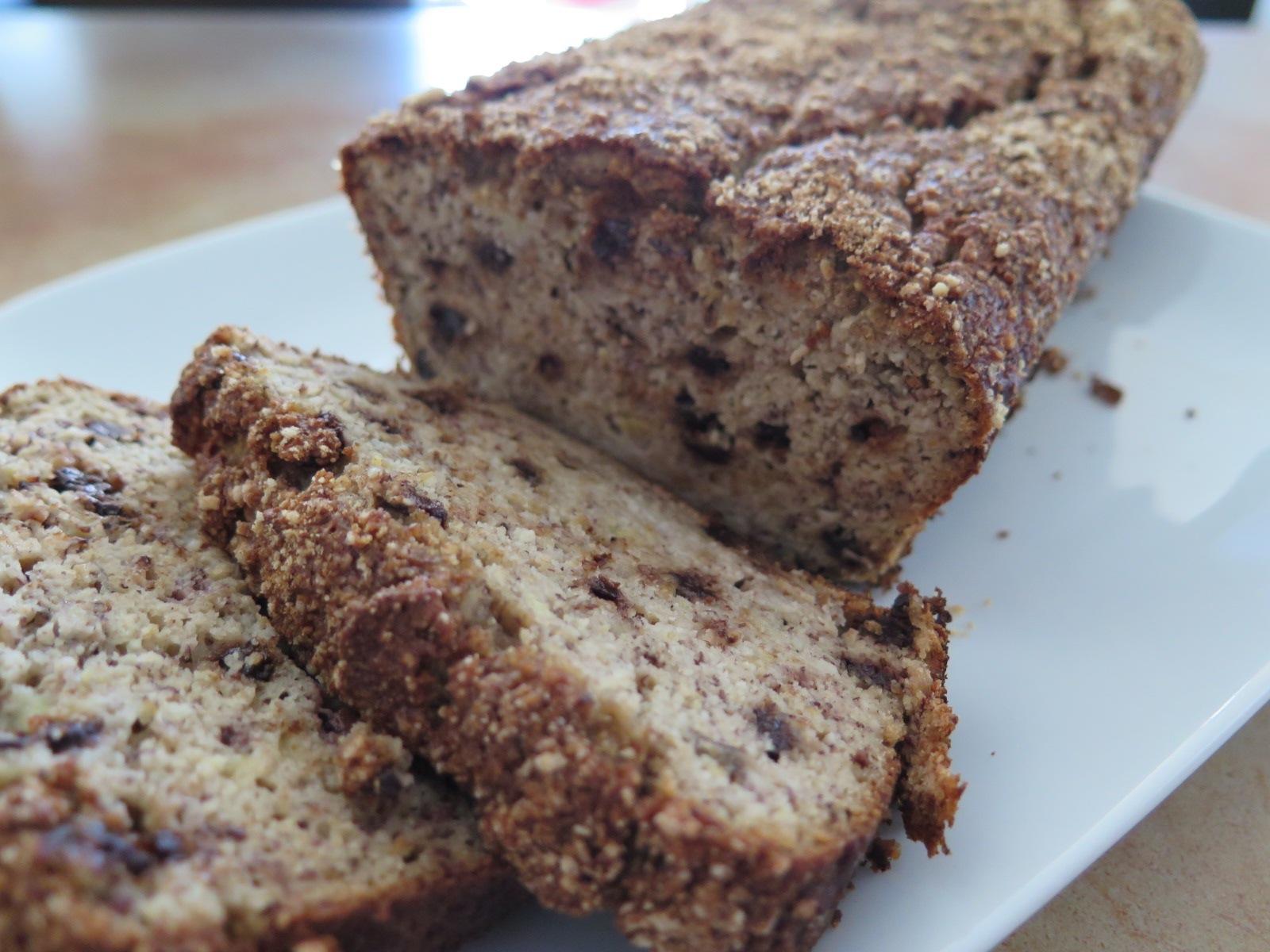 Chocolate Chip & Cinnamon Banana Bread – Paleo Style