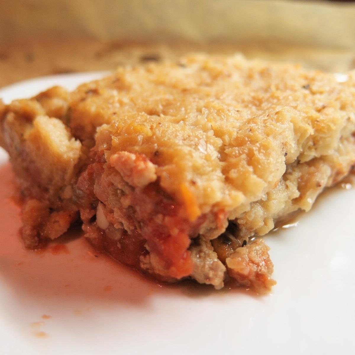 Modern Day Shepard's Pie – Turkey and Cauliflower Mash
