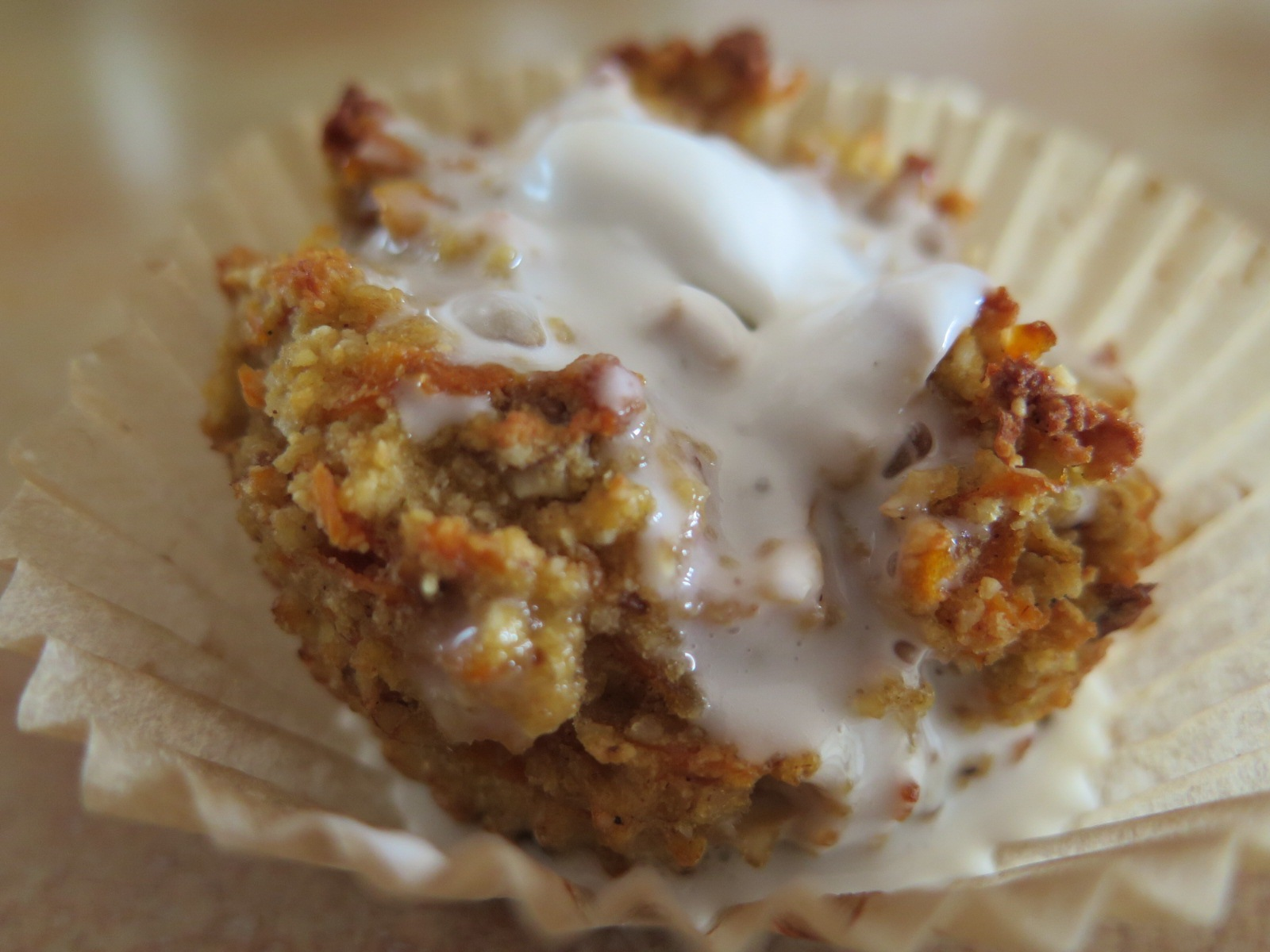 Carrot Cake Muffins with Maple Coconut Whip