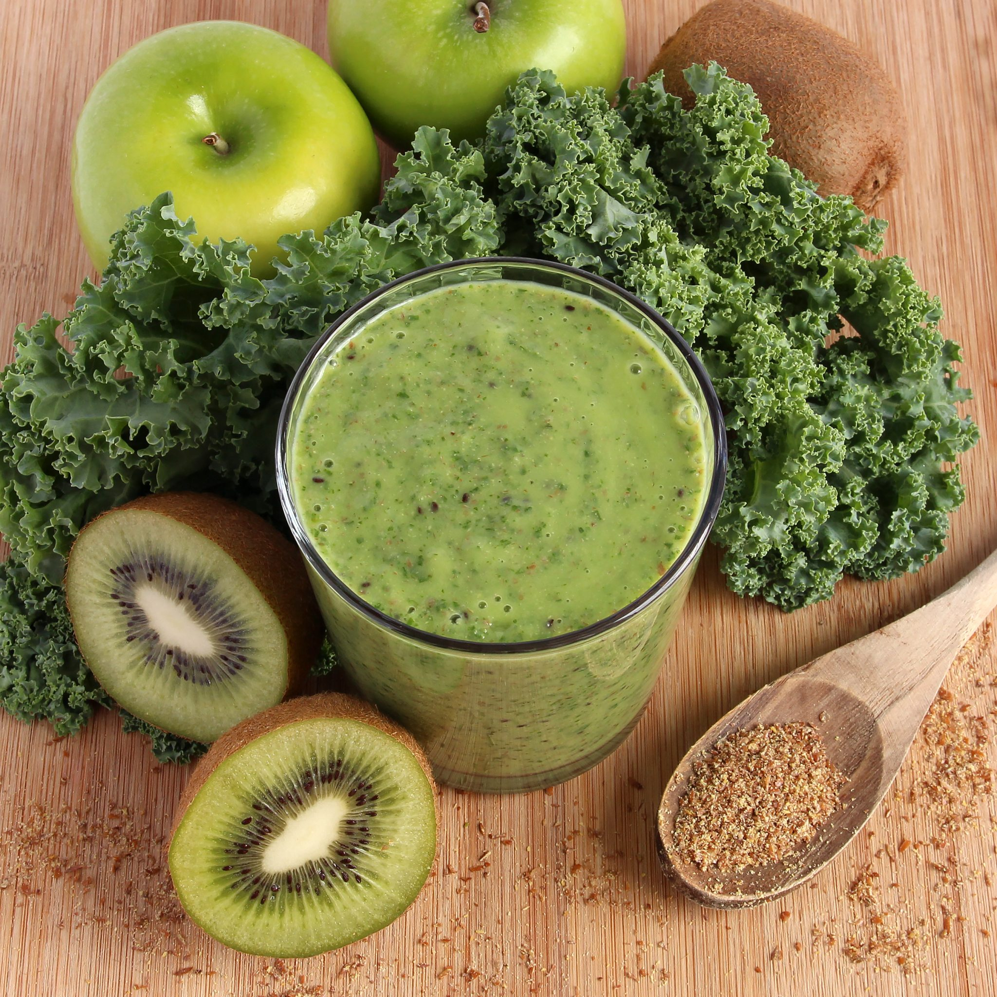 Kick The Cold Super Green Smoothie