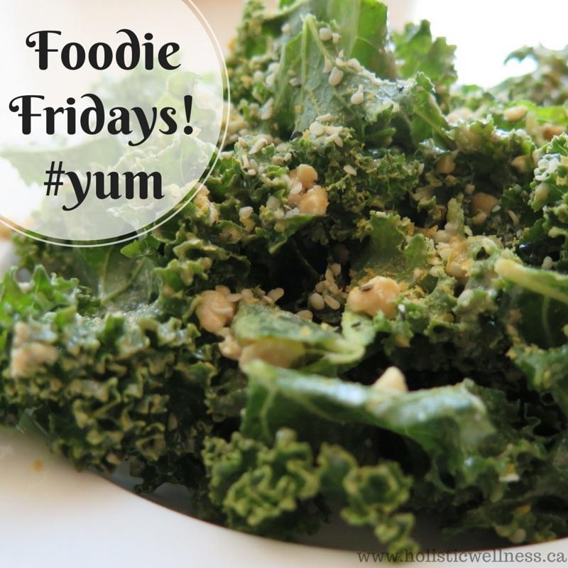 Foodie Fridays! The Best Ever Kale Caesar Salad