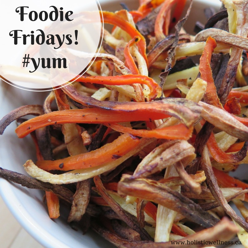 Foodie Fridays! Carrot and Parsnip Fries - Holistic Wellness