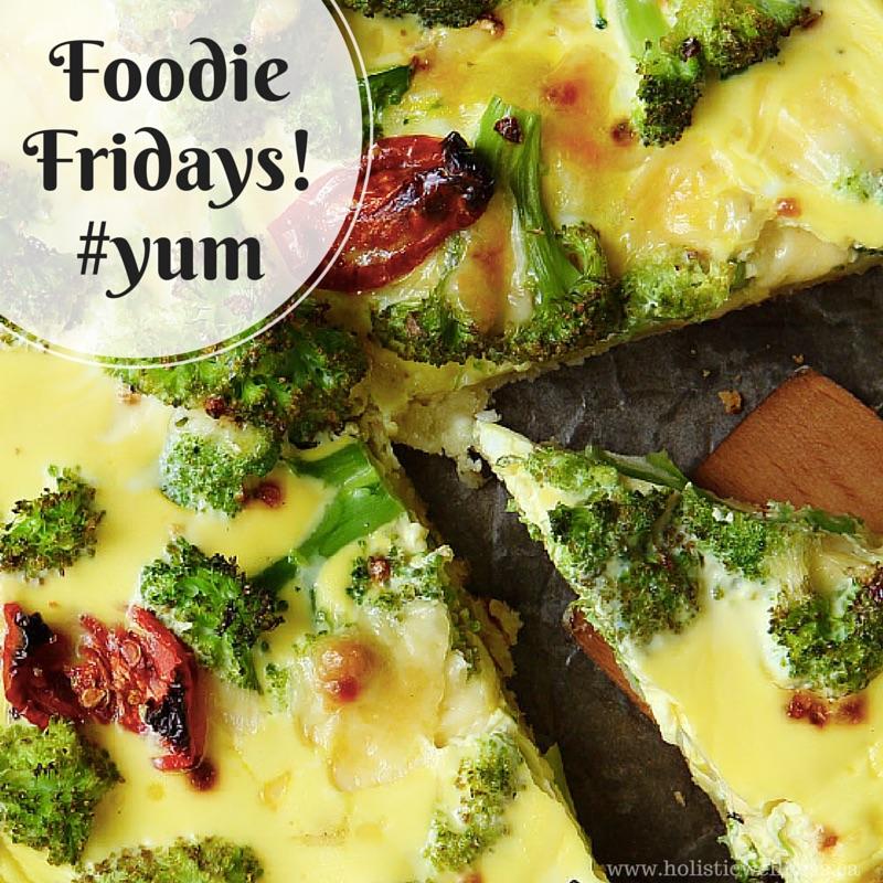 Foodie Fridays: Turkey, Broccoli and Mushroom Frittata