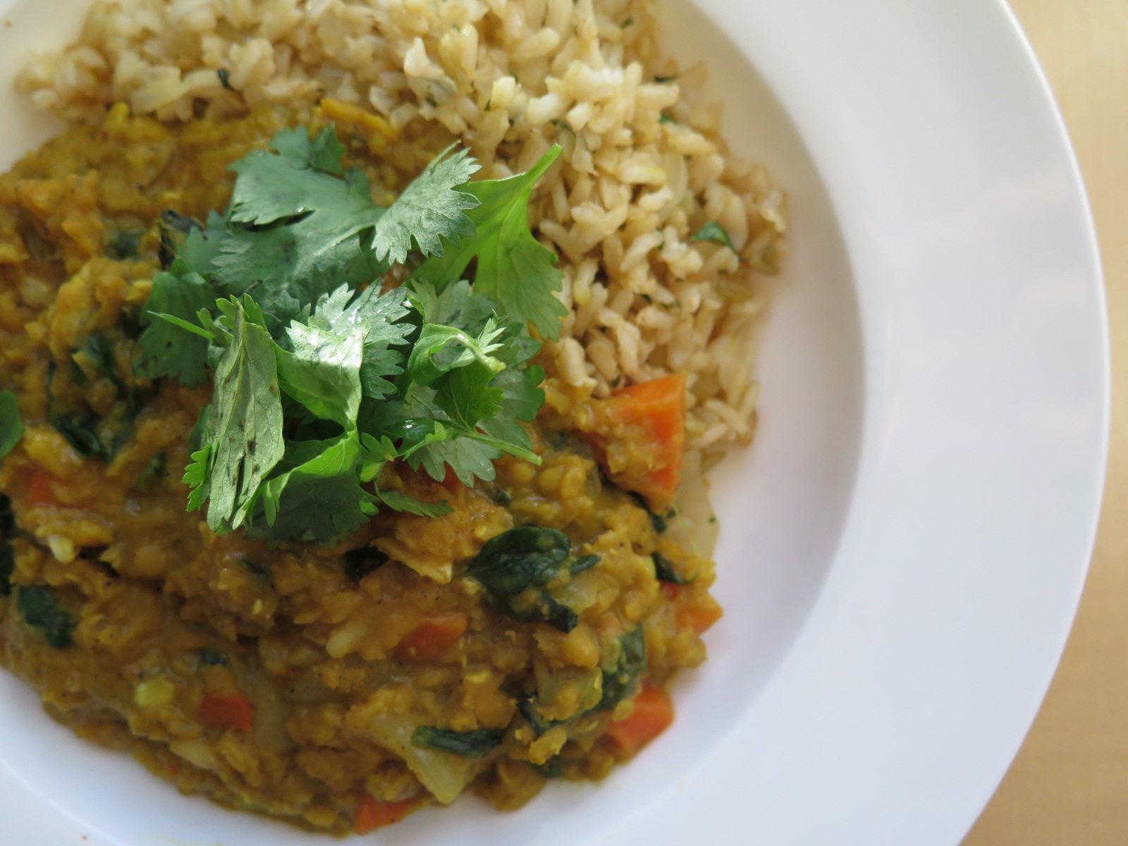 The Best Ever Red Lentil Dhal