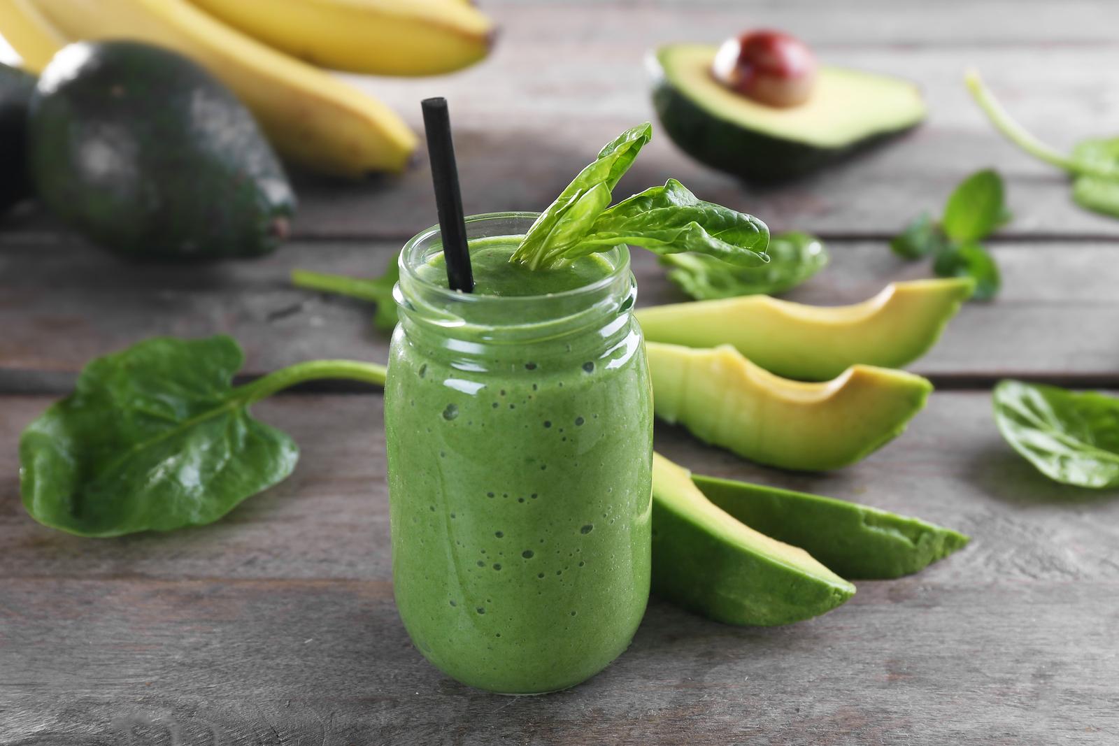 Gut Healing Green Smoothie Holistic Wellness