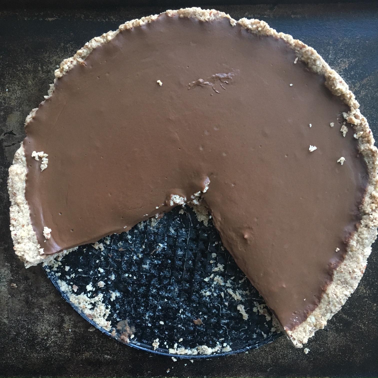Chocolate Pumpkin Torte (Gluten Free & Sugar Free!)