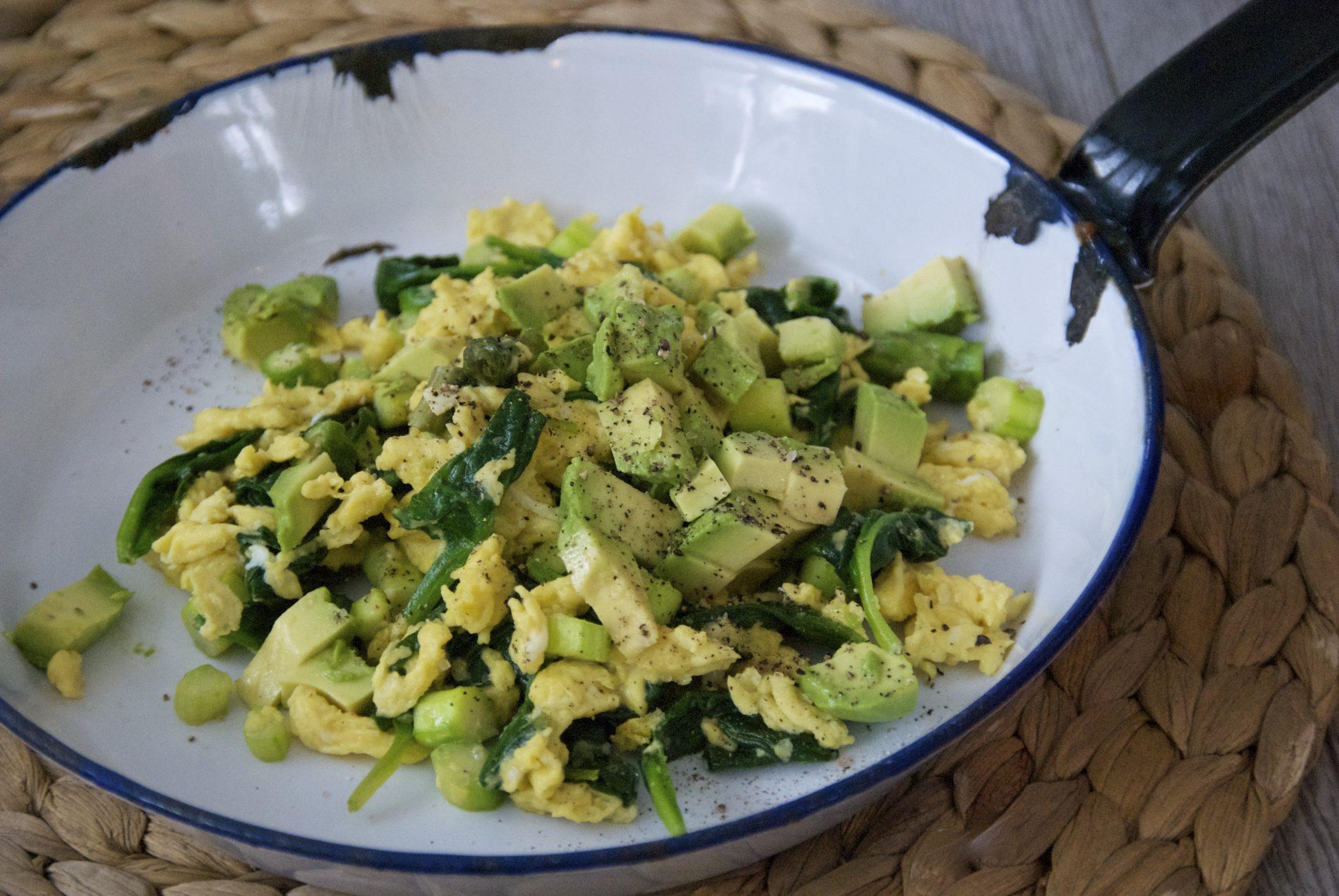 Metabolism Boosting Breakfast Scramble