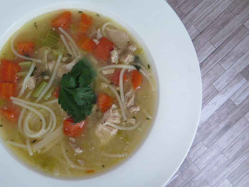 Instant Pot Chicken Soup – A Hearty and Veggie Filled Soup To Keep Your Immune System Strong During Cold n' Flu Season