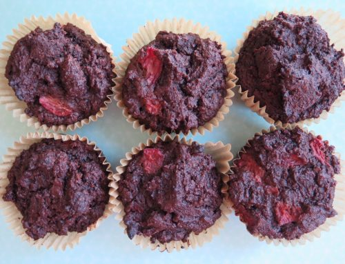 Chocolate Chip Cherry Muffins (Gluten Free and Grain Free)