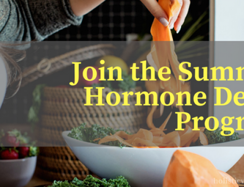Join The Summer Hormone Detox – Detox out Harmful Estrogens & Support Your Thyroid
