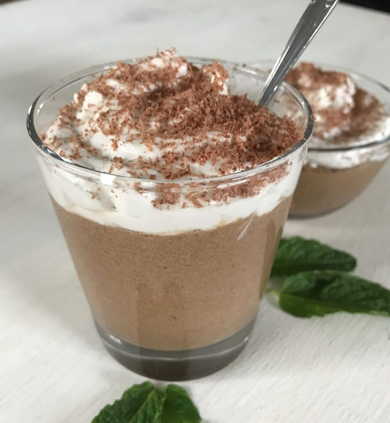 Chocolate Collagen Avocado Pudding (Paleo, Keto, Dairy-Free, Grain-Free + Loaded with Healthy Fat)