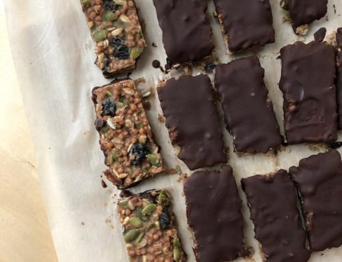 No-Bake Almond Butter Trail Mix Bars (Gluten Free, Vegan, Paleo, Dairy Free, Refined Sugar Free)