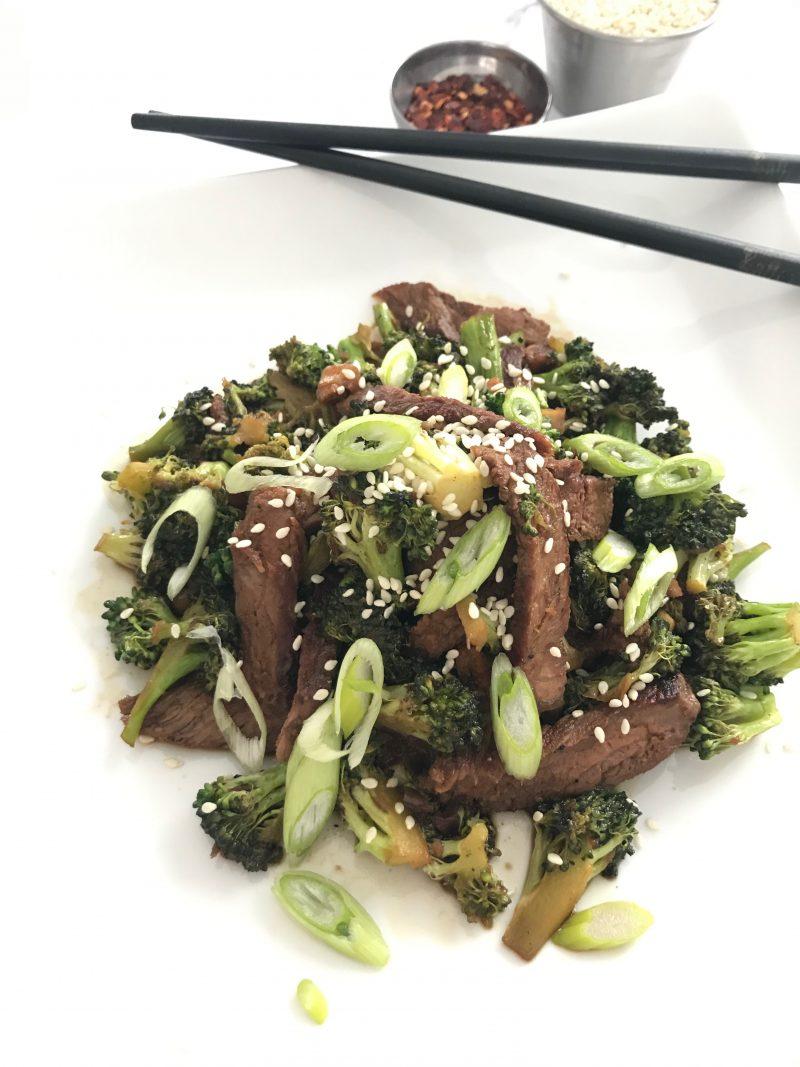 Gluten Free Mongolian Beef & Broccoli Stir Fry