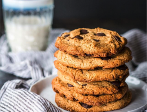 Sneak Peak Recipe: Collagen Tahini Chocolate Chip Cookies (Gluten-Free, Grain-Free, Low Sugar)