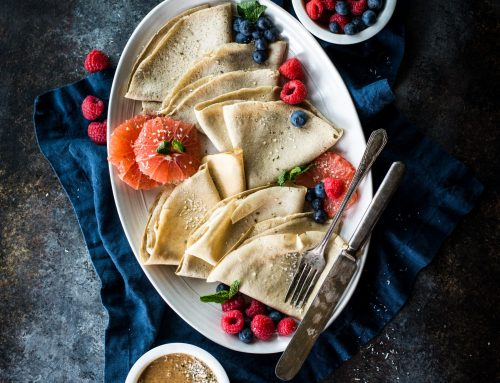 Sneak Peak Recipe: Protein Packed Crepes (Grain-Free, Gluten-Free)