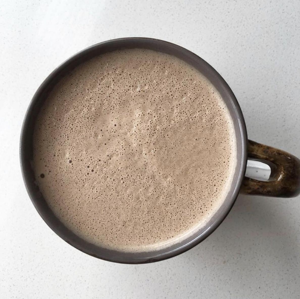 Bulletproof Hot Chocolate (Low Sugar, High Healthy Fat)